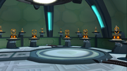 Starship Phoenix trophy room