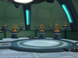 Starship Phoenix trophy room