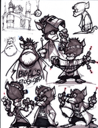 Al from R&C (2002) concept art 1