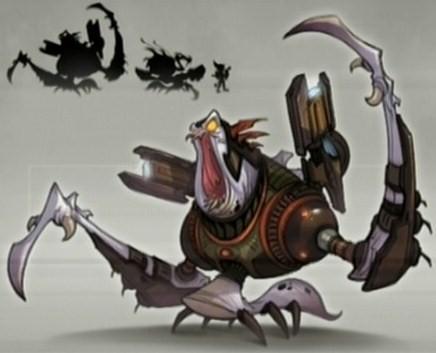 Cragmite Warrior Concept Art