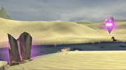 Desert crystals screen