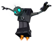 Bridge Bot promo render