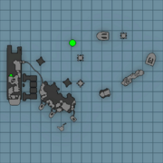 Distribution facility map