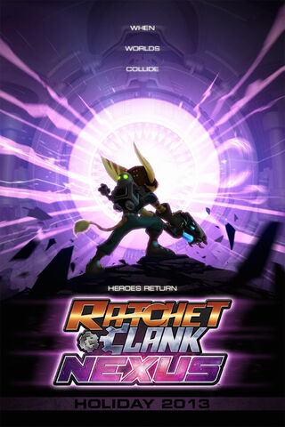 File:Ratchet & Clank Nexus Holiday 2013 poster.jpg