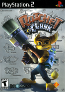 Ratchet & Clank (2002 game) front cover (US)