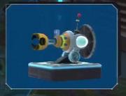 Pyro turret
