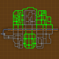 Deep Sea Hideout sewers map