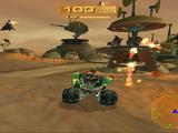 Destroy the plasma cannon turrets