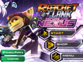 Ratchet & Clank Before the Nexus main menu.PNG