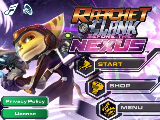 File:Ratchet & Clank Before the Nexus main menu.PNG