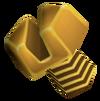 Gold bolt render