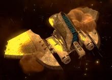 Libra's ship