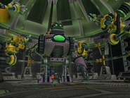 Robot factory from R&C (2002) screen 3