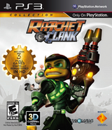 Ratchet & Clank Collection front cover (PS3) (US)