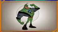 Captain Qwark from UYA concept art 2