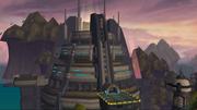 Megacorp Games arena exterior