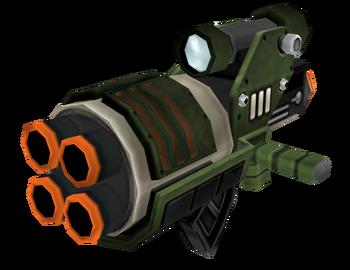 Megarocket Cannon