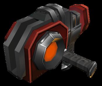 Disc Blade Gun