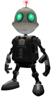 Secret Agent Clank from UYA promo render