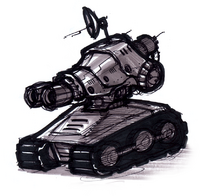 Cannonball tank from R&C (2002) concept art.png