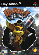 Ratchet & Clank (2002 game) front cover (EU)