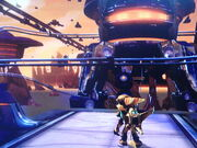 Ratchet and clank at Zordoom Prison