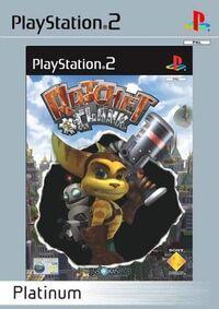 Carátula Ratchet & Clank PS2