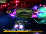 Technomiten-Schlachtschiff