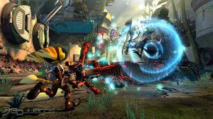 Ratchet clank into the nexus-3