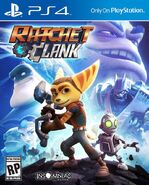 Ratchet & Clank PS4 Carátula