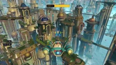 Ratchet & Clank (PS4) - Planet Kerwan Gameplay