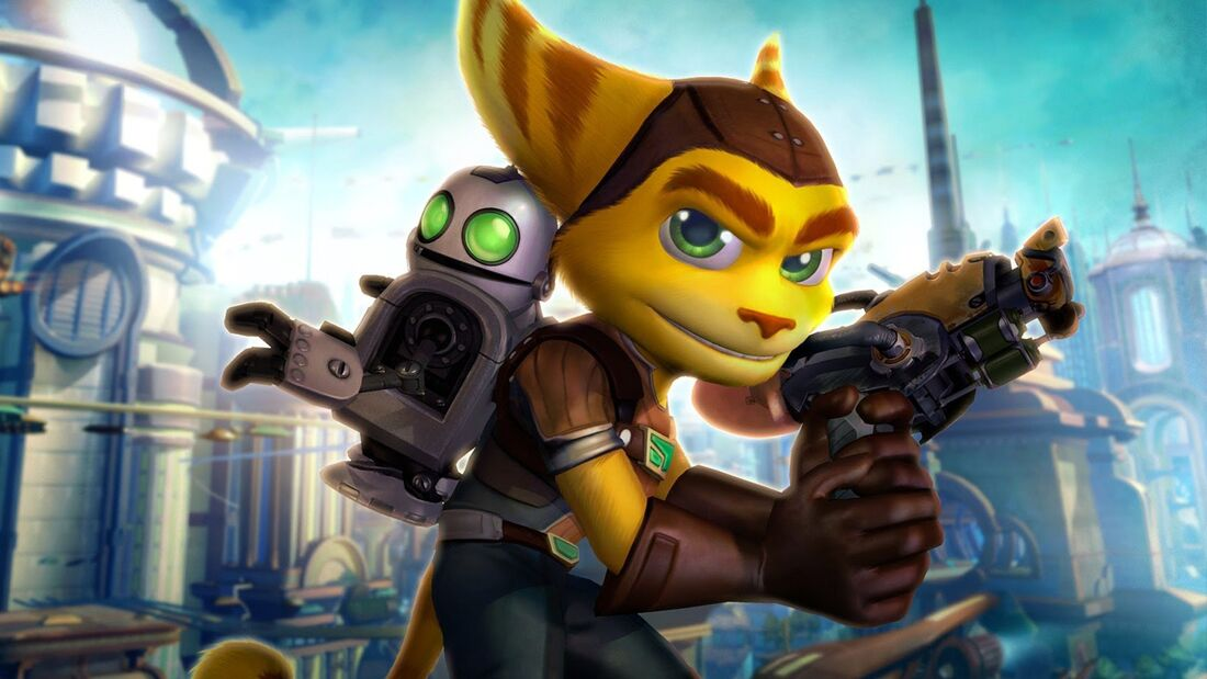 Ratchet Clank background