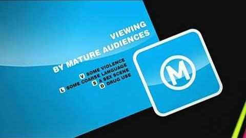 Channel GO! M Classification Warning (2010-2014)