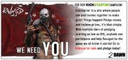 Kickstarter Advert
