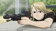 Akemi with a sniper