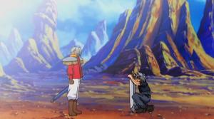 Haru meets his father