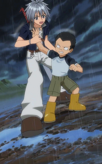 Haru stops Chino