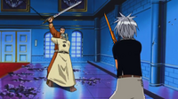 Galein tells haru to attack