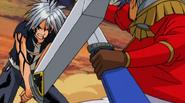 Haru protects himself