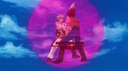 Shuda uses his explosion