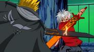 King and Haru clash