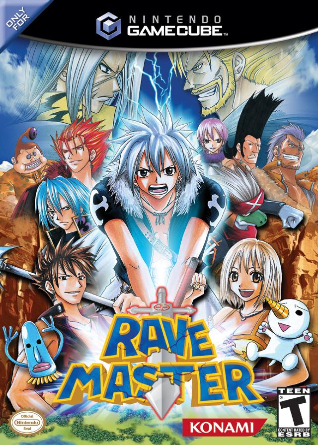 Rave Master Video Game