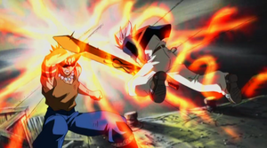 Shuda fights Haru