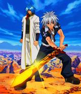 Haru and Sieg team up