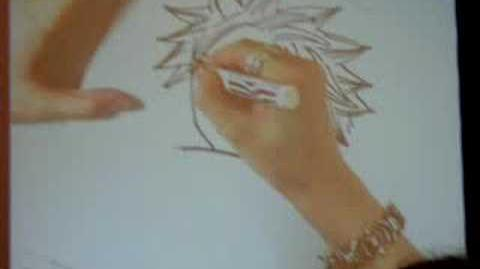 SDCC 2008 Hiro Mashima Drawing