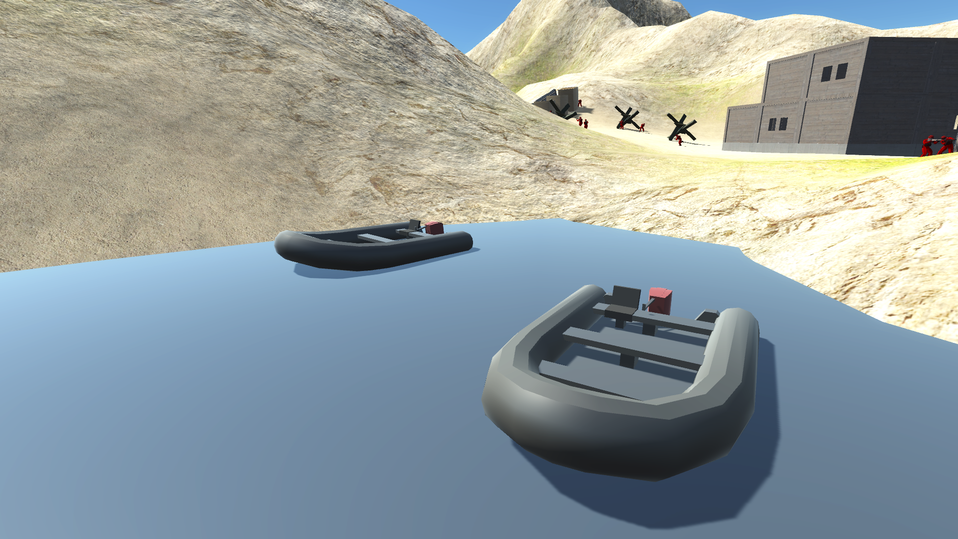 Rigid-hulled inflatable boat (RHIB) | Ravenfield Wiki