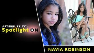 Navia Robinson Interview AfterBuzz TV's Spotlight On