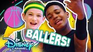 Let's Be Basketball Players 🏀- Do it Duo - Raven's Home - Disney Channel