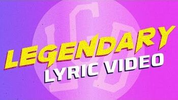 Legendary Lyric Music Video Disney Channel