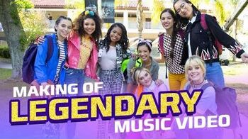 Legendary Music Video Behind the Scenes Disney Channel